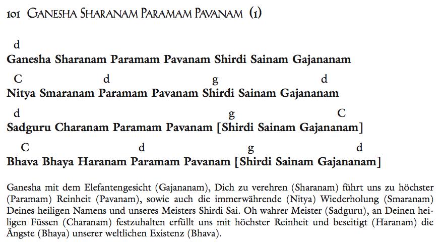 Ganesha Sharanam Paramam Pavanam