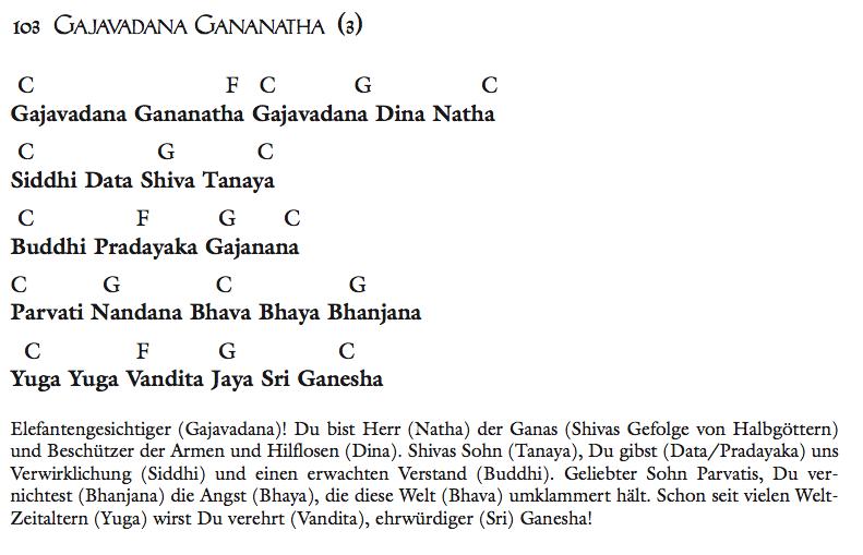 Gajavadana Gananatha