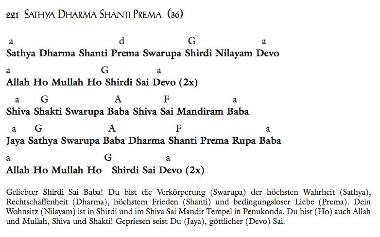 Sathya Dharma Shanti Prema