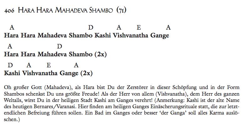 Hara Hara Mahadeva Shambo