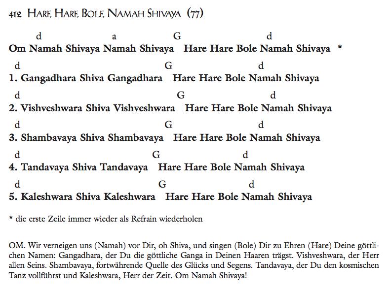 Hare Hare Bole Nama Shivaya