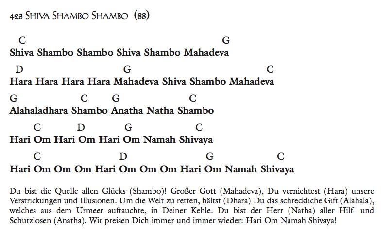Shiva Shambo Shambo