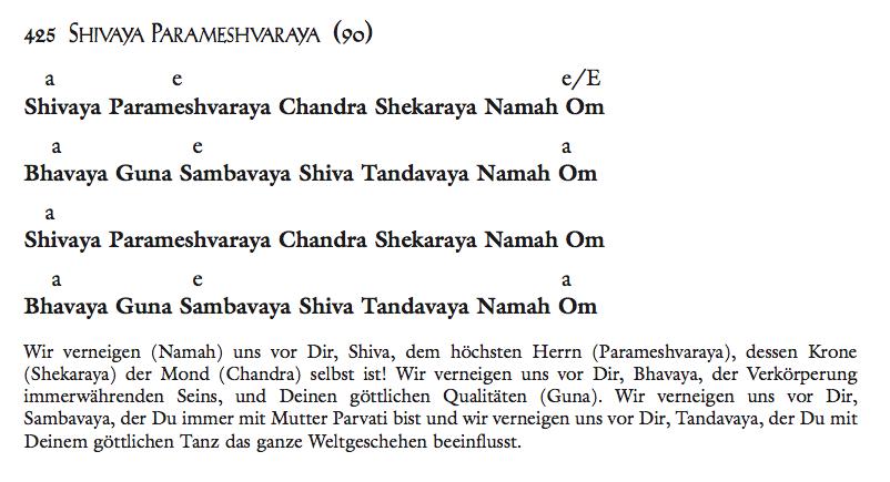Shivaya Parameshvaraya