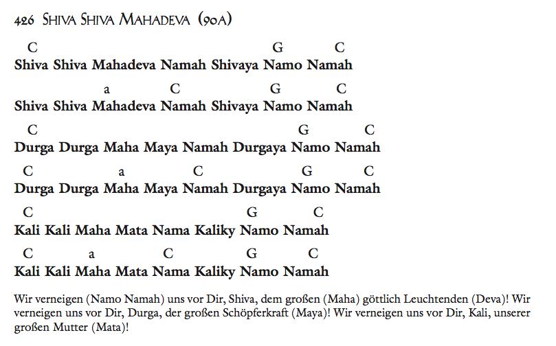Shiva Shiva Mahadeva