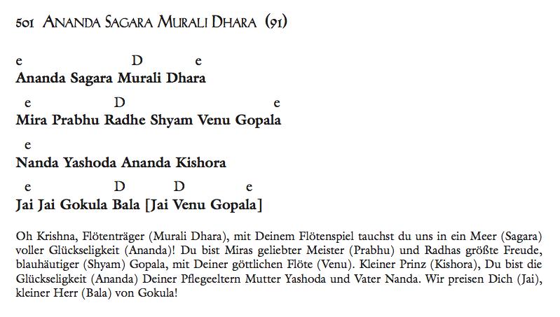 Ananda Sagara Murali Dhara