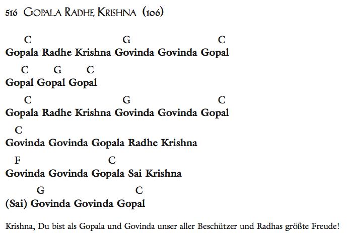 Gopala Radhe Krishna