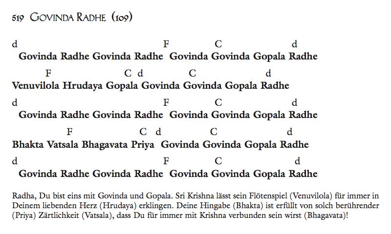 Govinda Radhe