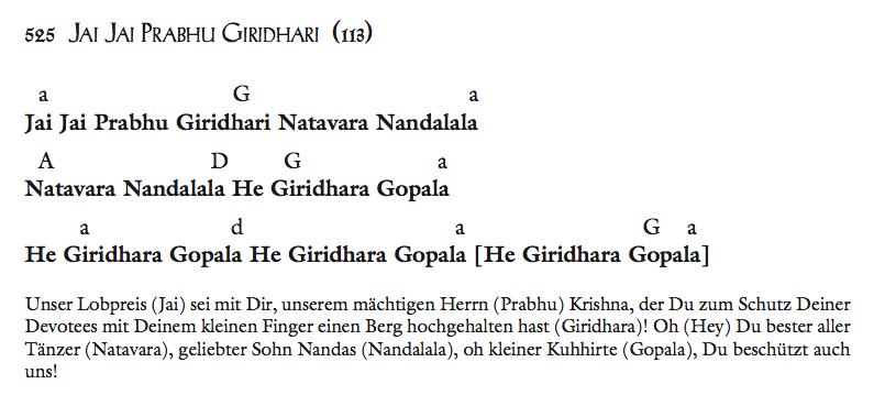 Jai Jai Prabhu Giridhari