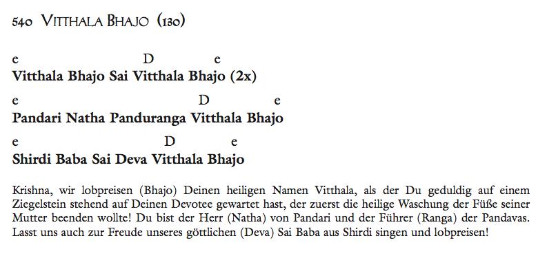 Vitthala Bhajo